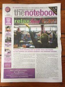 The Notebook covers Inner Strength Teen Program