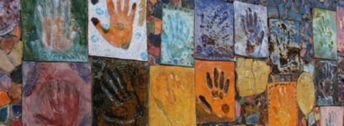 tiled hands