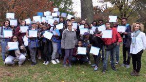 Inner Strength Teen Retreatants Receive Certificates