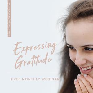 EXPRESSING GRATITUDE CONSCIOUS CLASSROOM WEBINAR